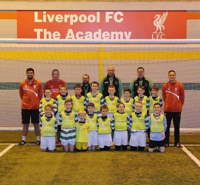 Vulcan Sponsored Team Win Day at Liverpool FC - Latest from Vulcan Fire Training